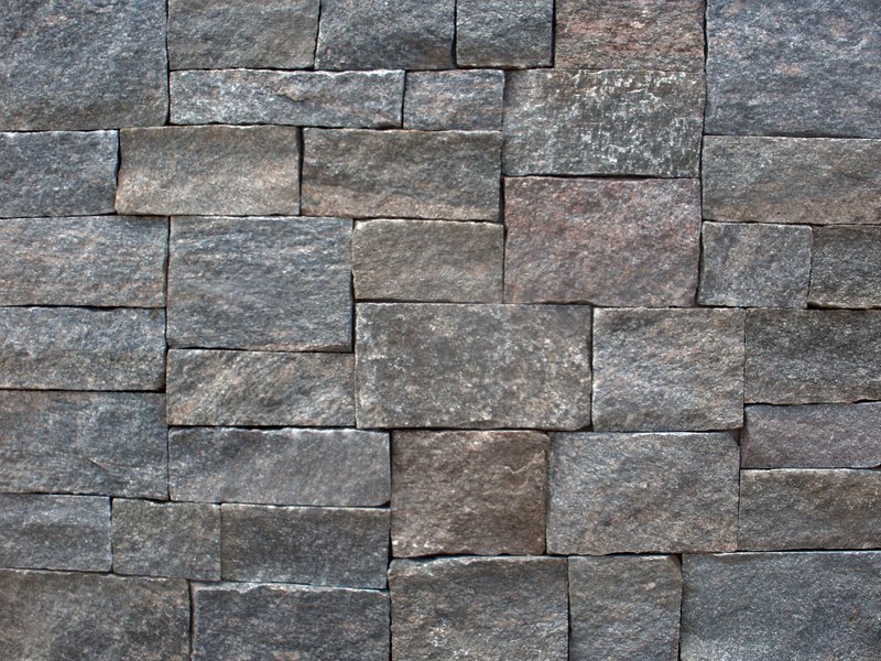 Thin Granite Stone : Vineyard granite ashlar
